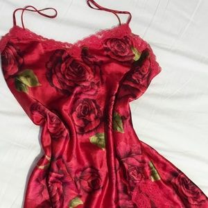 Victoria Secret Silky Rose Slip ❣️